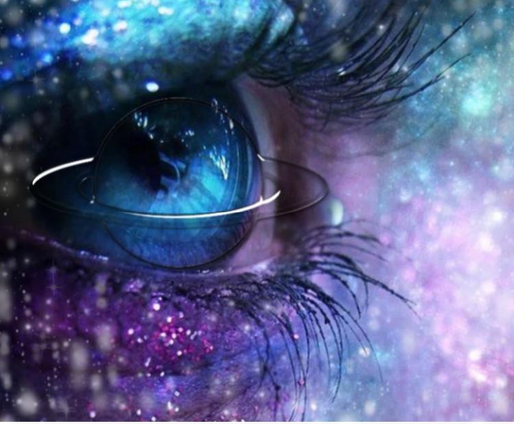 #yeux galaxie