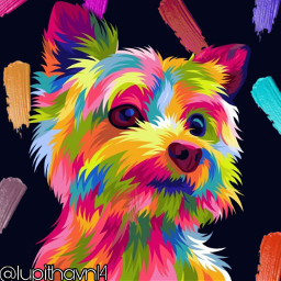freetoedit dog rainbow pallete colors srccolorpalette colorpalette colorpallet