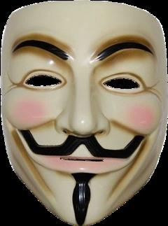 anonymous hacker mascara mask cara freetoedit