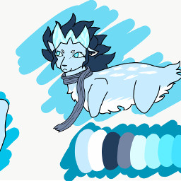 oc ice dog deer 2am
