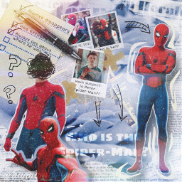 spiderman spidermanedit peterparker peterparkeredit tomholland freetoedit