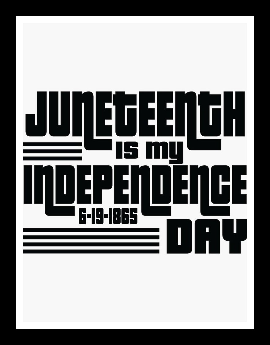 Happy juneteenth!!!