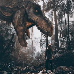 jurassicpark dinosaurstickerremix dinosaur madewithpicsart myedit freetoedit