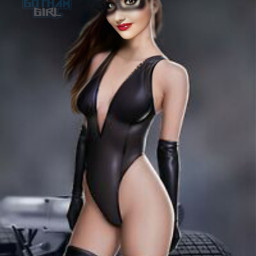 freetoedit catwoman woman face mask
