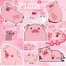 pig piggy piggylove pink frretoedit freetoedit fcexpressyourself expressyourself ExpressYourself