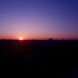 sunset june summer sky picturebyme