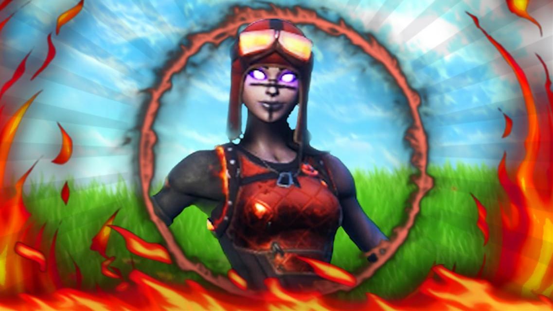 """BLAZE """"MOLTEN RENEGADE RAIDER"""" FORTNITE LOGO TEMPLATE FTU #fortnite #freetoedit #fortnitelogo #logo #new #unreleased #renegaderaider #molten #fire #lava"""