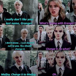 dramione dramione4ever draco dracomalfoy hermione