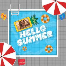 replay summer replays pool summertime freetoedit ftestickers