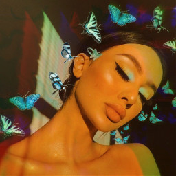 freetoedit rcholographicbutterflies holographicbutterflies