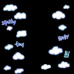 freetoedit cloud border frame cute