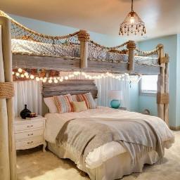 room bed cool beautiful nice🌻🌺💙🌅 freetoedit