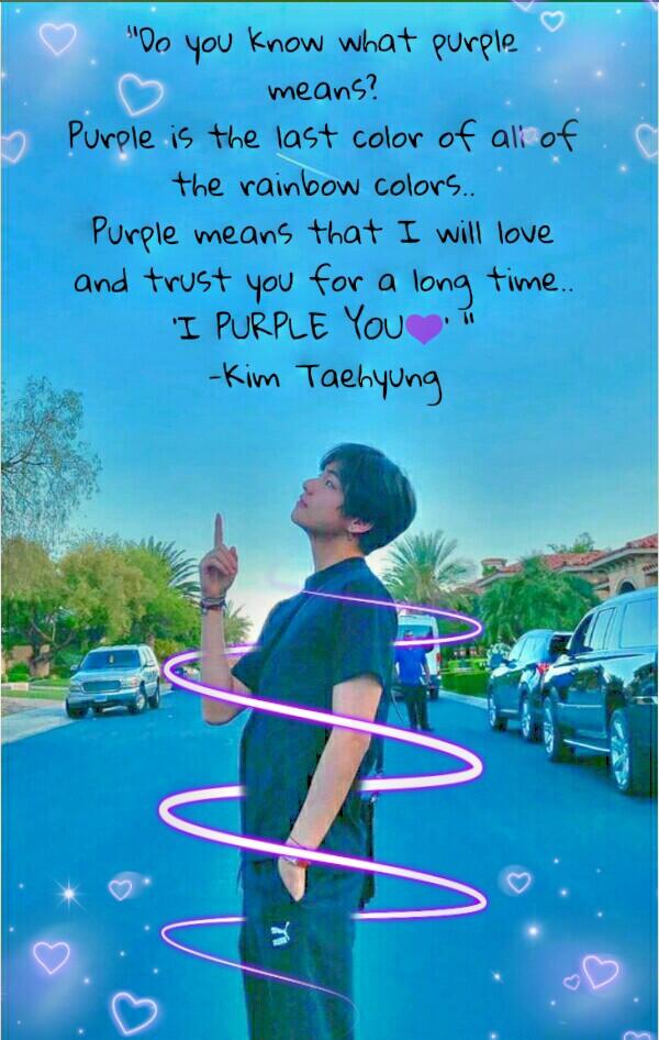 #I purple you 💜💜