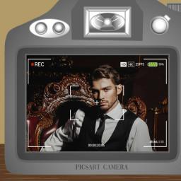 camera artistic frame freetoedit ftestickers