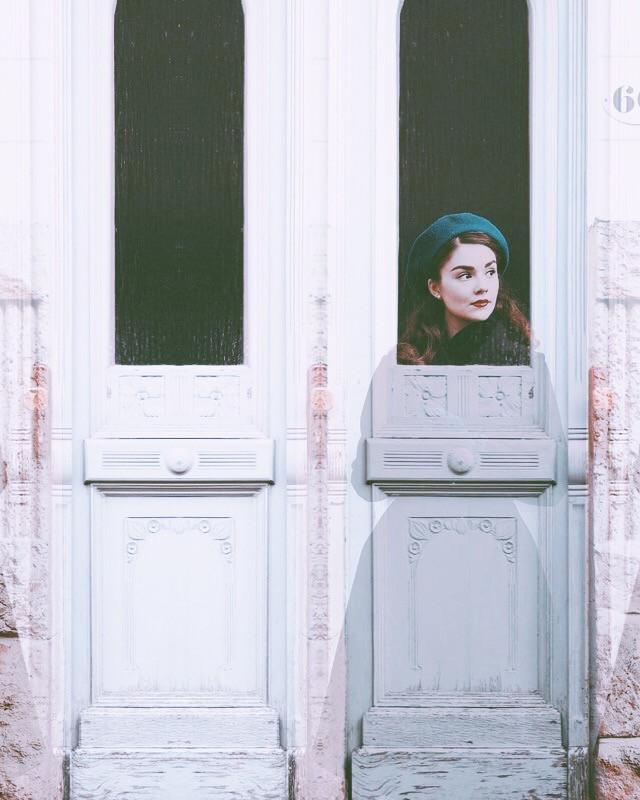 #freetoedit #magic #mirror #ayna #door #girl #replay