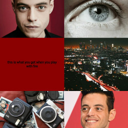 freetoedit ramimalek aesthetic red redaesthetic
