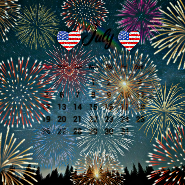 #happy4thofjuly #americastrong #calendarchallenge