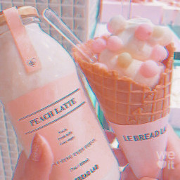Peach peaches icecream pastel soft whi weheartit filter summer spring freetoedit background image fte remixit usethis wallpaper pfp