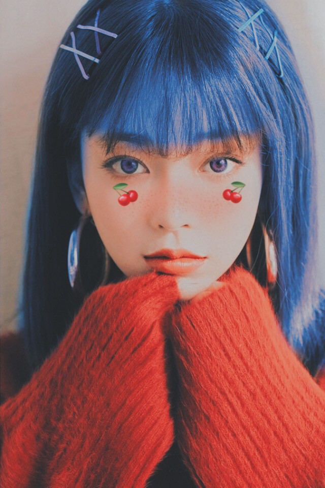 #freetoedit #ullzang #ullzanggirl #ullzangkorea #korean #people #sweet #sweetdreams #cherry