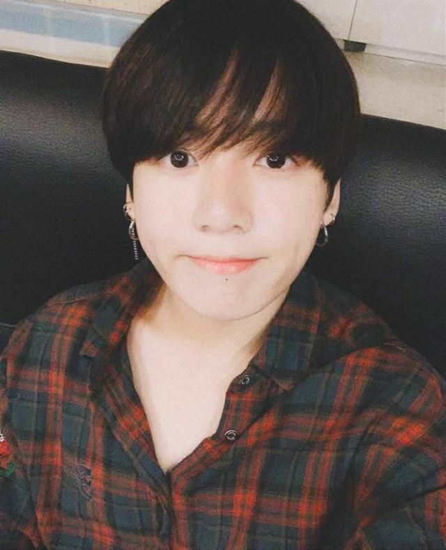 커트👀👀👀🙂(hair)cut👀👀👀🙂  #bts #jungkook
