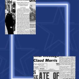 wallpaper blue aesthetic newspaper stars freetoedit