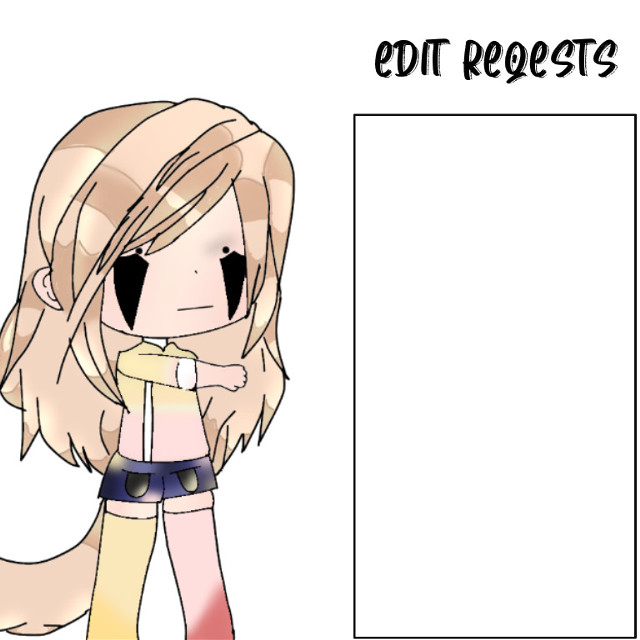 Edit requests are open! Oop forgot eyebrows xD (Im only choosing a few people though) #freetoedit