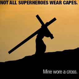 freetoedit superhero jesus cross jesuschrist