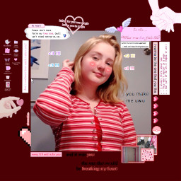 lovecore redandpink burgundy softcore redaesthetic freetoedit
