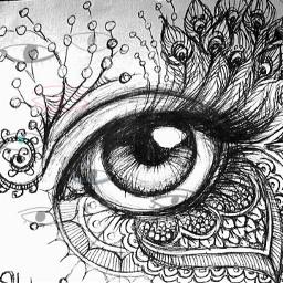 freetoedit doodleart eye like srcdoodleeyes doodleeyes