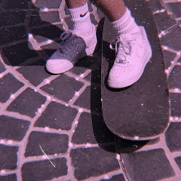wallpapers nike chanel skateboarding skatergirl freetoedit