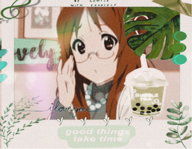 #freetoedit  #k-on! #anime #sawako #blobfishandcakeeater This isnt my best, may be re-making, but heres Sawa chan!