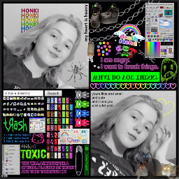 cybercore cybergoth cyberpunk emocore emoaesthetic freetoedit