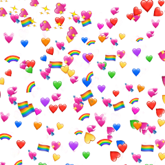 freetoedit background backgrounds emojis heart