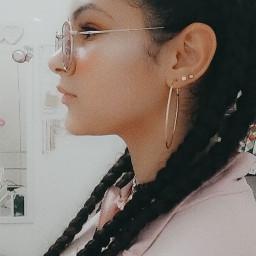braids style motivational glasses freetoedit