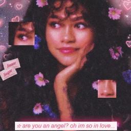 zendaya y2k angel lovecore aesthetic