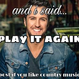 lukebryan playitagain countrymusic countrymusichalloffame music