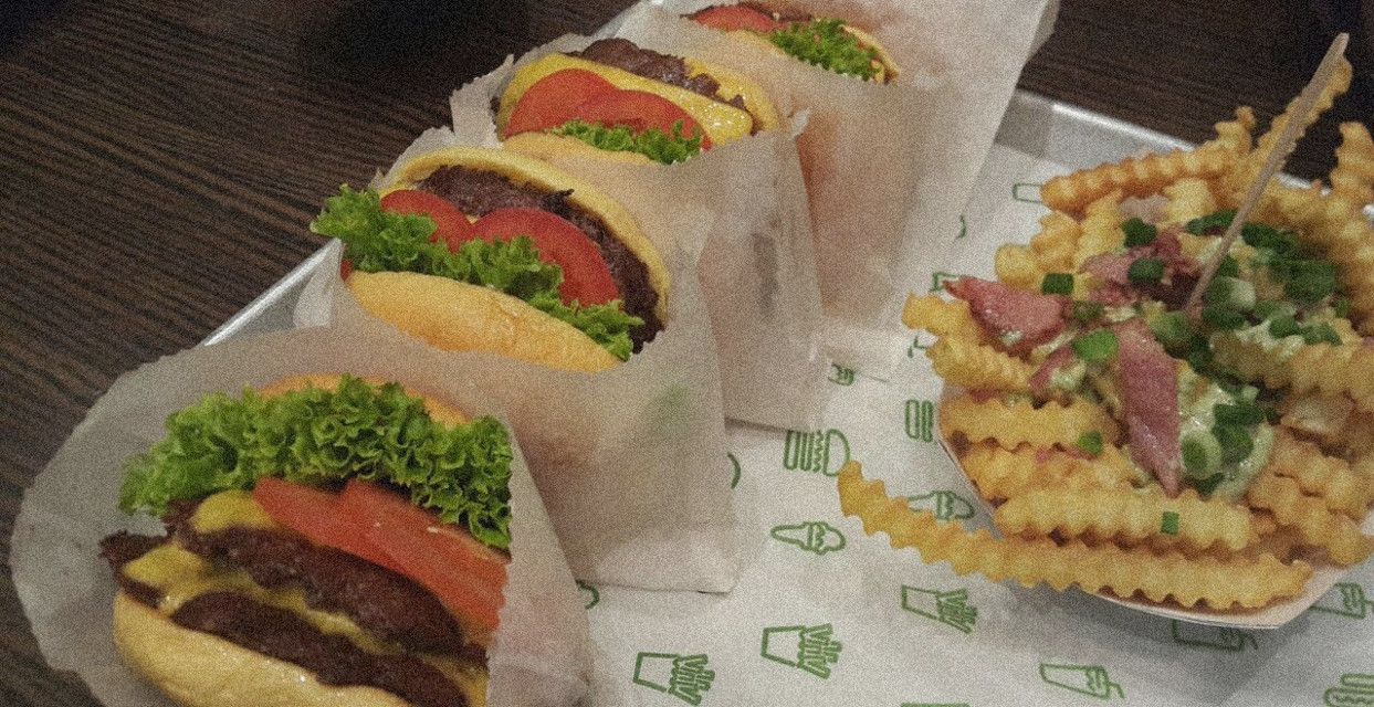 🍔 I miss shake shack 🍔 (Last post for today)