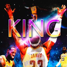 freetoedit wallpaper king lebronjames 23