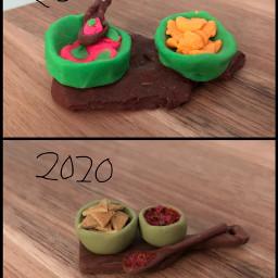 polymerclay myart miniature remake chips