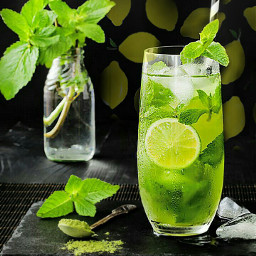 freetoedit lemons mint juice ice 🌹🌷جمعة srcfreshlemons freshlemons