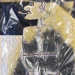 freetoedit sketch man smoking art