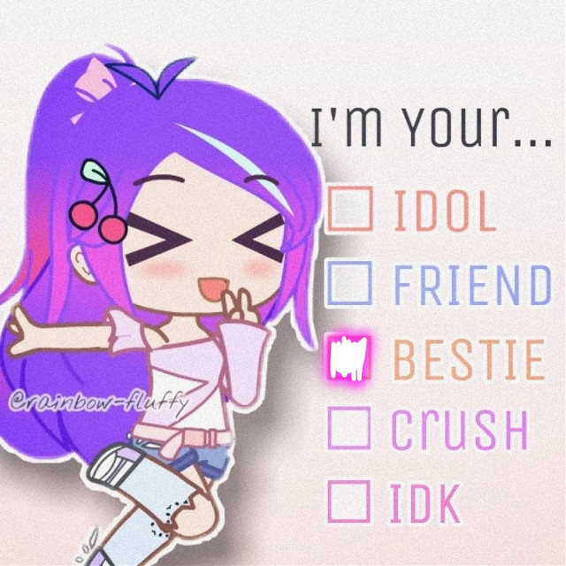 #freetoedit You are very much bestie