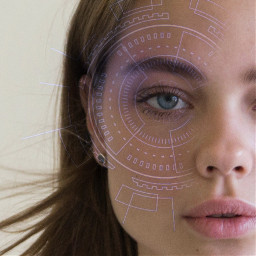 freetoedit девушка робот пиксарт cyber robot girl