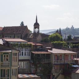 tbilisi georgia travel background backgrounds freetoedit