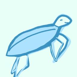 turtle art savetheoceans savetheearth savetheturtles blue pastel vsco sksksksks