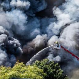 fire fireman smoke