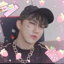 freetoedit changbin straykids kpop icons hyunjin cute pastel picsart edits eboy aesthetic awesome art