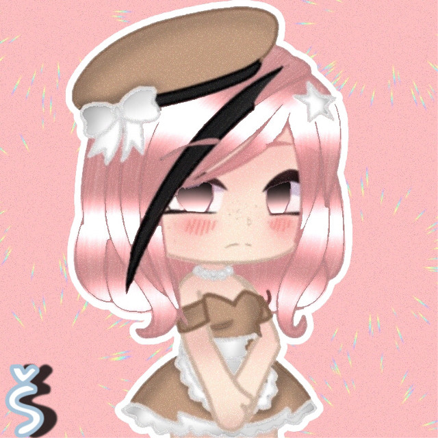 """~Bonjour~  New edit✨ Request 11# For: @sunset__tea  Sorry it's horrible, probably one of my worst edits for a person so far this year😩  HashTags: #gacha #gachalife #gachaedit #request #gacharequest #pink #freetoedit #remixit #editrequest #edit #art #pink #shading #gachastudio #gachaverse #lunimegames #lunime   Credit  •IbisPaint X~ For the editing tools  •Picsart~ For the photo to edit and watermark  Remix chat me for more useless information🙂  Tags: @cookiemosterlily @rainingbubbles @-lopipop- @akward_gacha @cloudy_unicorn @-pink-freak @simply_me140  @_-squirrel-_  @mushi_coffee  @diamonddawndog123  @-shxrt_stuff-  @1van_  @lil_deviluwu  @____pizzapancake  @xxemilywolfiexx  @laina_the_gacha_gurl  @starlight_vee  @_-sugar_and_spice-_  @dumb_stupid_berry   Follow as many people as you can from that list please💞✨   ✨Sorry if you didn't want to be tagged. Just remix chat me""""📌"""" to be added to the list. If you want to be removed then remix chat """"✂️"""". About me posting a LOT today, I actually have no clue why I am😅YeAaAaAA- anyway I'm really bored right now cause literally no one is online😔. Can someone please talk to me?-✨  ~Adios~"""