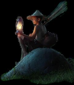 freetoedit boy child lantern