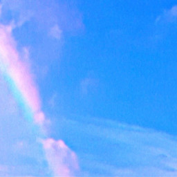 freetoedit skylover rainbow clouds naturephotography